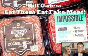 Bill Gates Let Them Eat Fake Synthetic Meat
