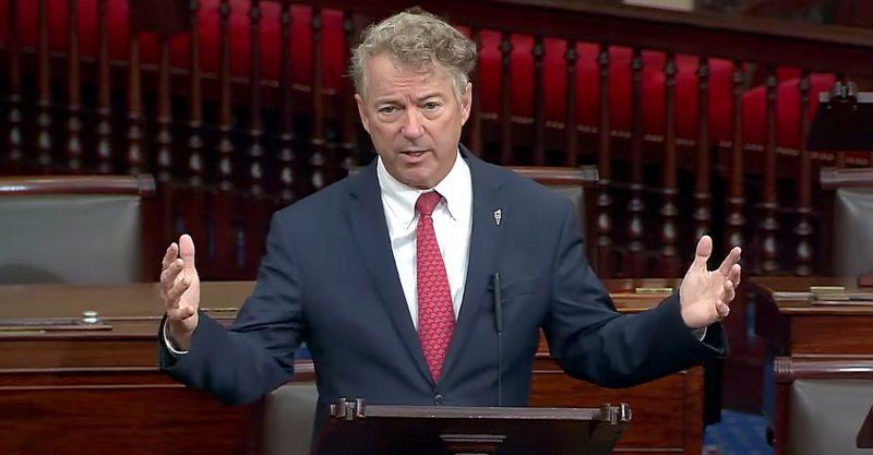 Senator Rand Paul States Fauci Spreading Mistruths